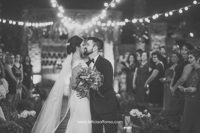 Primeiro beijo do casal