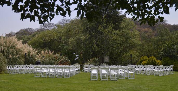 Jardín Los Alamares