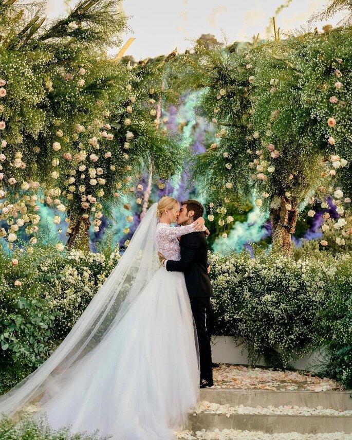 fa4c94c3d464 Matrimonio Chiara Ferragni e Fedez  ecco la cerimonia dei  TheFerragnez