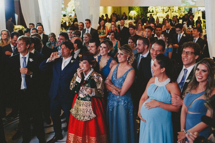 Início festa casamento