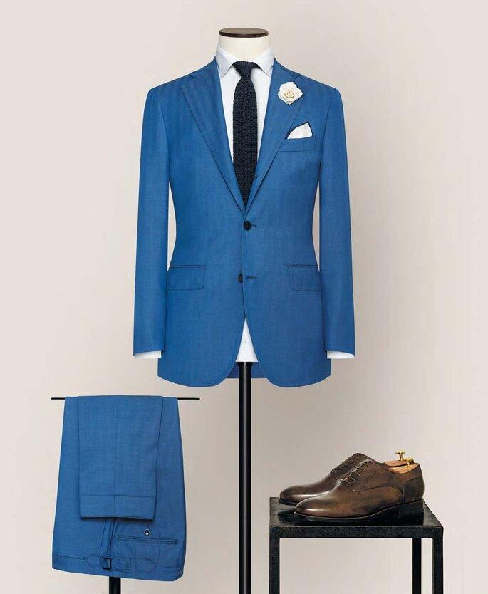 Anzug von Alferano blau