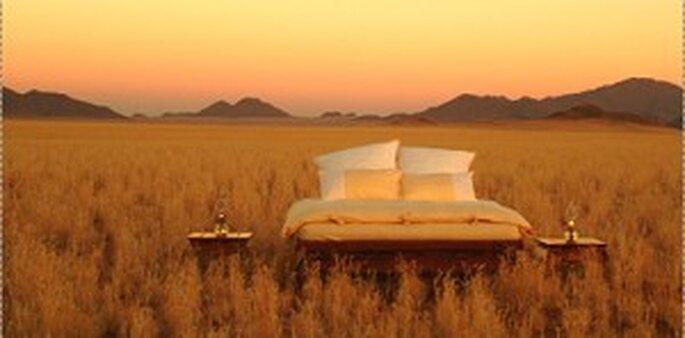 Namibia - Schlafen unter freiem Himmel!