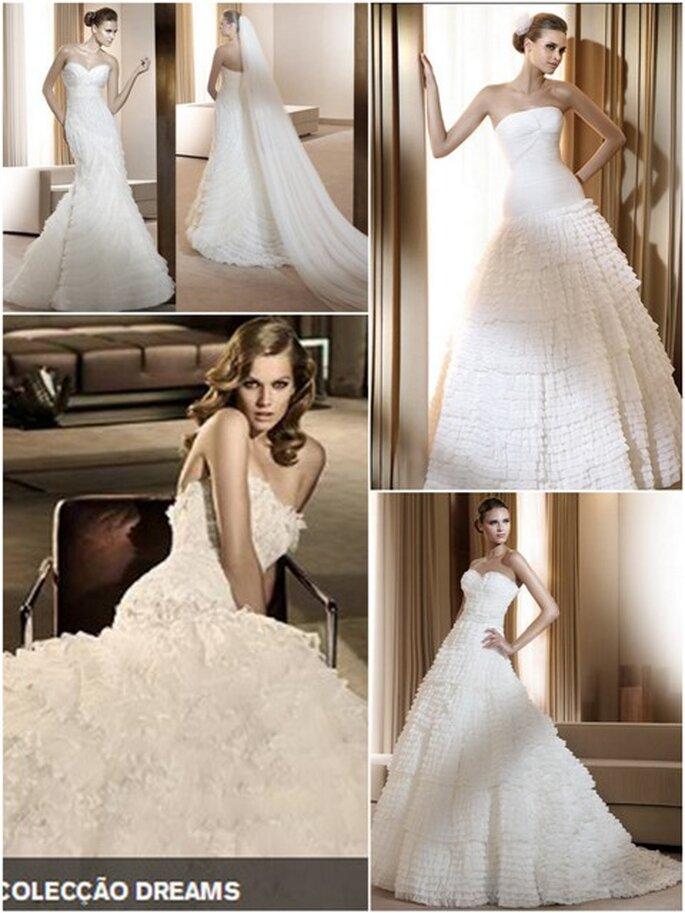 Vestidos de Noiva Pronovias 2011 - Colecção Dreams