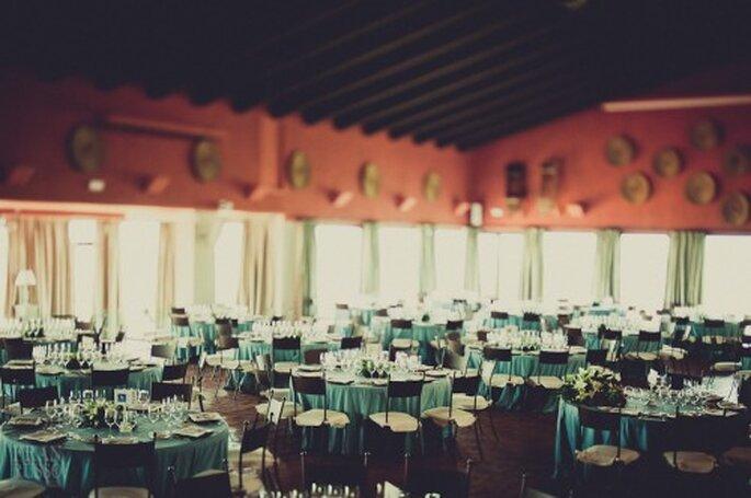 Los más lindos detalles de boda en color azul - Foto: Fran Russo