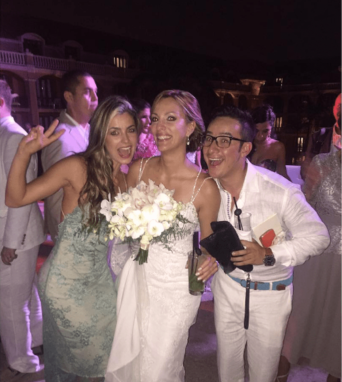 Vestidos de novias de famosas colombianas
