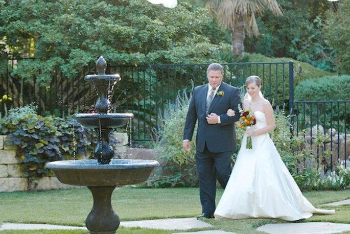 El papá no tiene que acompañar a la novia hasta el altar - Foto Erich Egwer