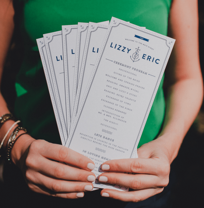 A Wedding Inspired By Sailing And The Sea