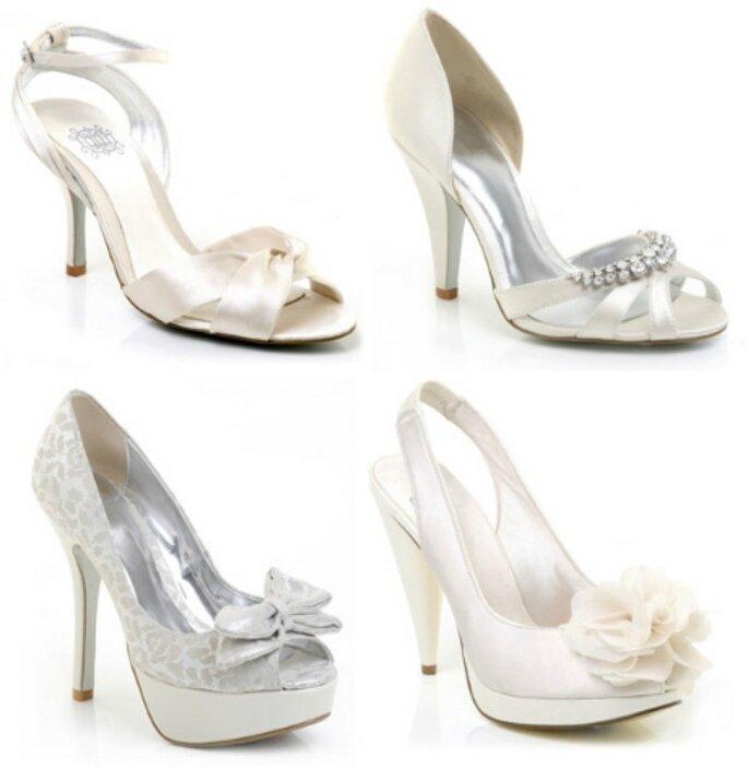 Una selezione di scarpe da sposa per il giorno del vostro matrimonio!