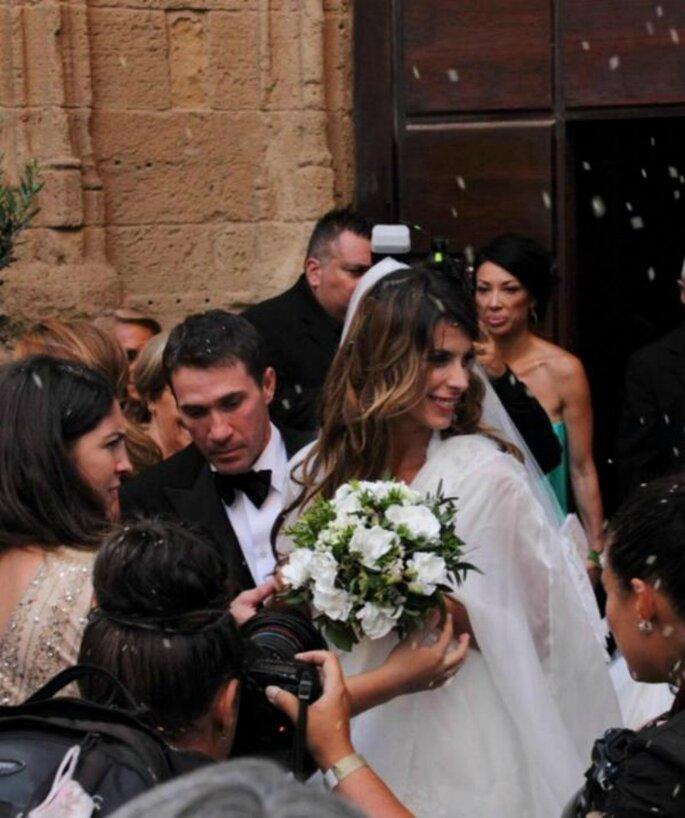 Matrimonio di Elisabetta Canalis e Brian Perri - Foto via Twitter Repubblica