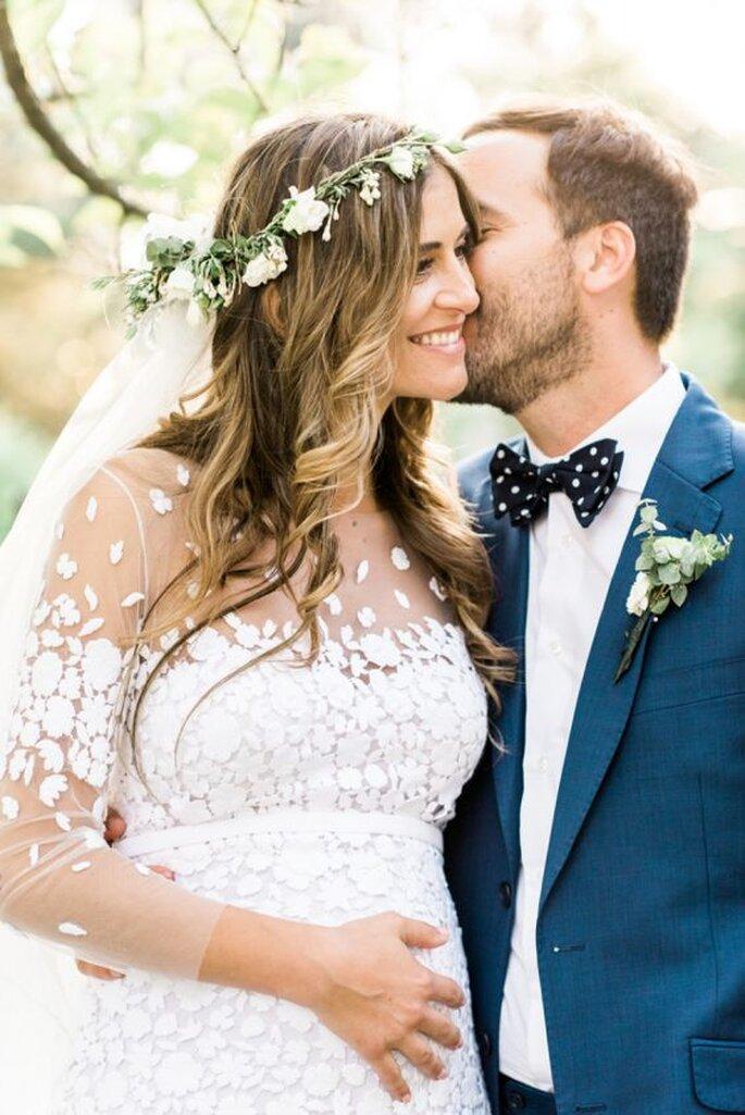 de2567b1369e422 Свадебное платье для беременной невесты: стильное решение!