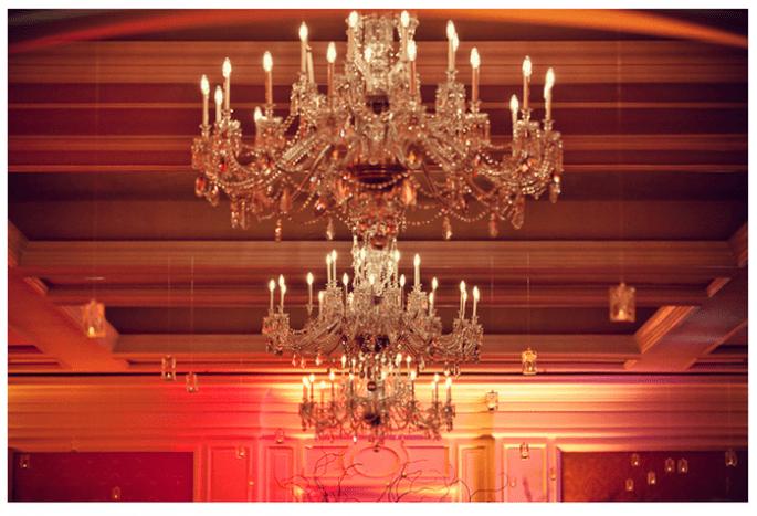 Tendencias en iluminación para bodas 2014 - Foto La Dolce Vita