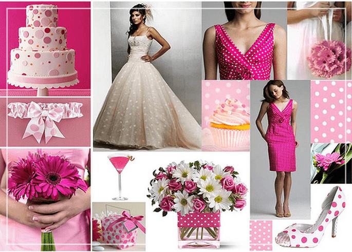 Emicrania assicurata: fucsia Barbie. Foto via One Dress via Flickr