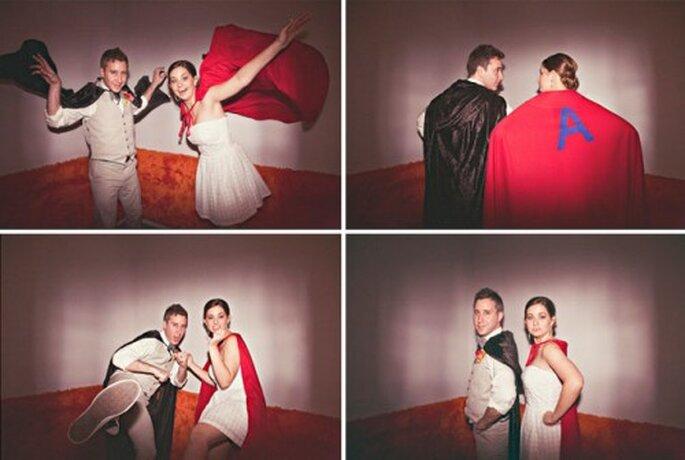 Foto: superhero wedding