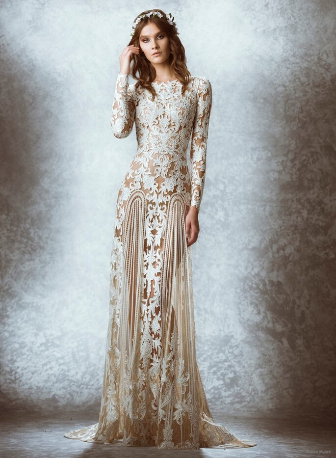 Las tendencias más grandiosas en vestidos de novia 2015 - Zuhair Murad Oficial