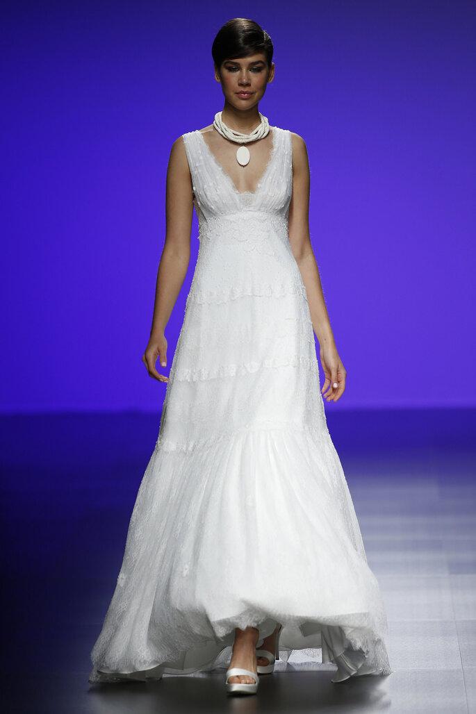 Cómo elegir el vestido de novia si estoy embarazada?