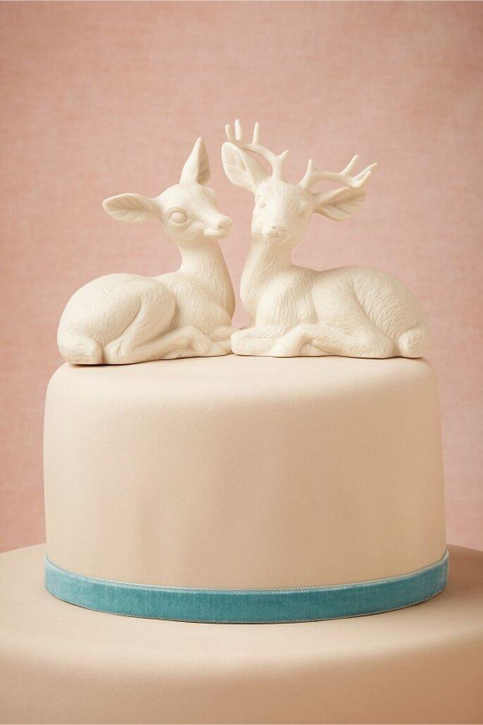 Muñecos y animales originales para el pastel de bodas - Foto BHLDN