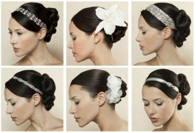 wunderschöne Frisuren zur Hochzeit - www.sposalicious
