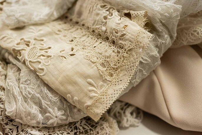 tejidos vestidos novia