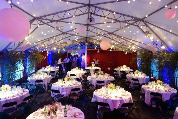 Péniche - lieu de réception original pour votre mariage à Lyon