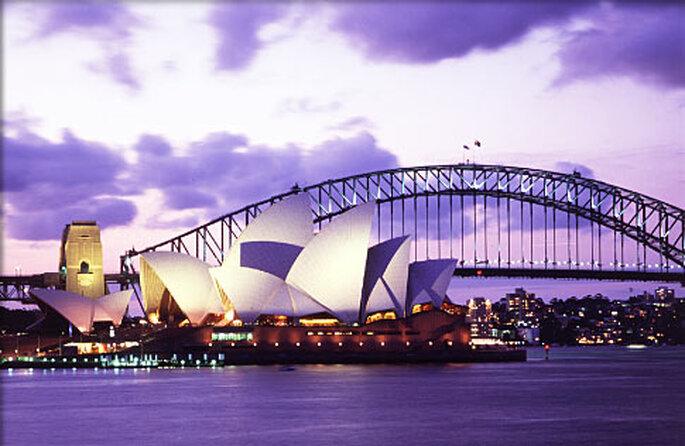 La Ópera House en Sidney...