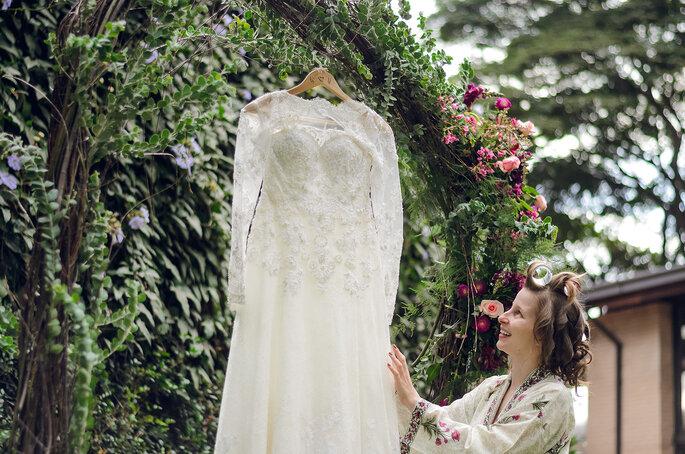 Vestido de noiva: Luluza Ateliê | Foto: Pri Martins e Tiago Silva