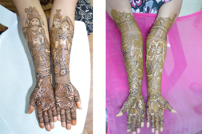 Mehndi Artist: Pawan Mehandi Art.