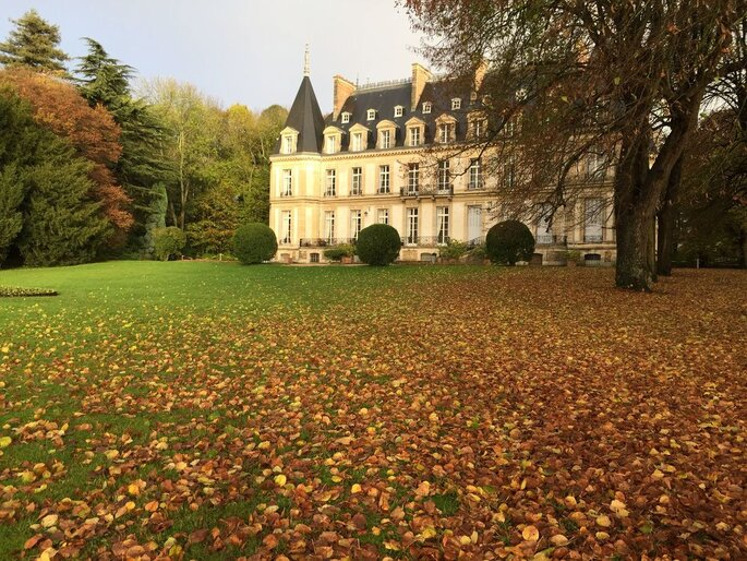 Château automne mariage