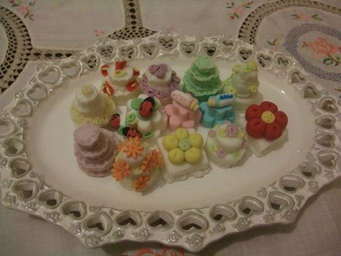Cake in pasta di zucchero ©Dolcezze di zucchero