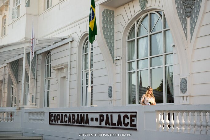 Noiva no Copacaba Palace