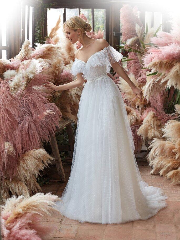 Vestidos de novia con tul