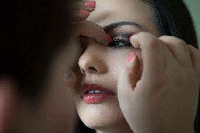 Logra un maquillaje de novia perfecto y sin máscaras - Foto Erandy Mendoza