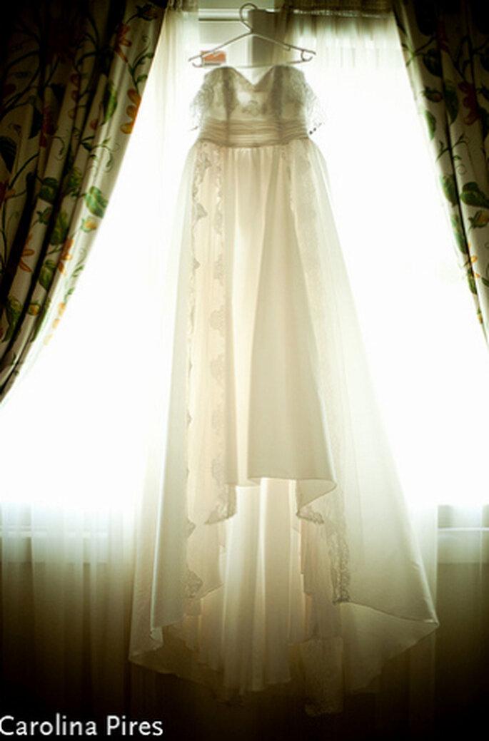 Gut und günstig an Brautkleider kommen. Foto: Carolina Pires