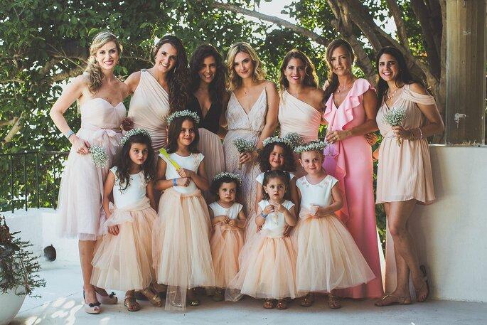 Vestido blanco para boda en la playa invitadas