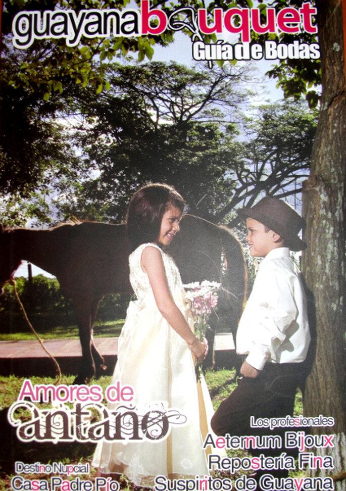 """Portada de publicación más reciente bautizada """"Amores de Antaño"""". Imagen: Zankyou VE"""