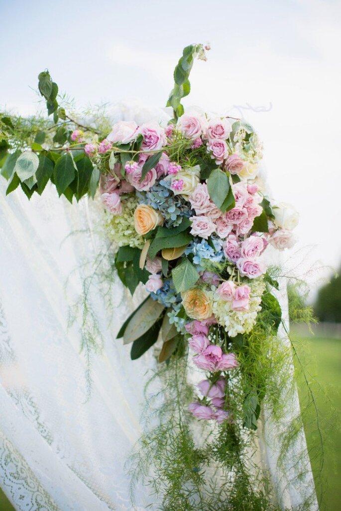 La sutileza del azul con tintes de rosa - Foto Watson Studios