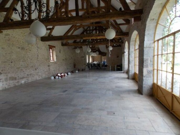 Les salles de réception du Château de la Fontaine ont énormément de cachet