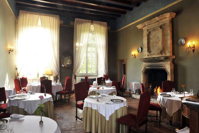 Restaurant - Salle de mariage - Abbaye de Villeneuve salle de mariage