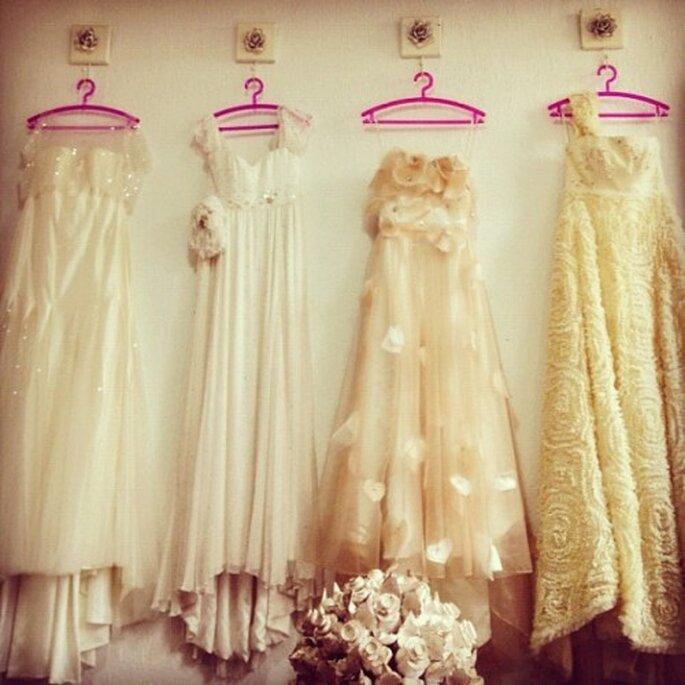 Vestidos de novia publicados en Instagram - Foto @Zankyou_weddings