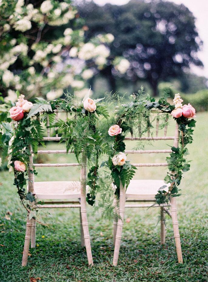 Originales ideas para decorar sillas - Jen Huang