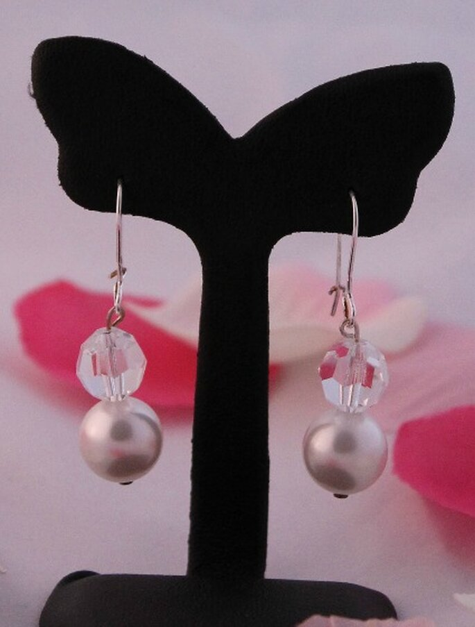 Boucles d'oreilles Coeur Sucré, modèle Julie - Photo : Coeur Sucré
