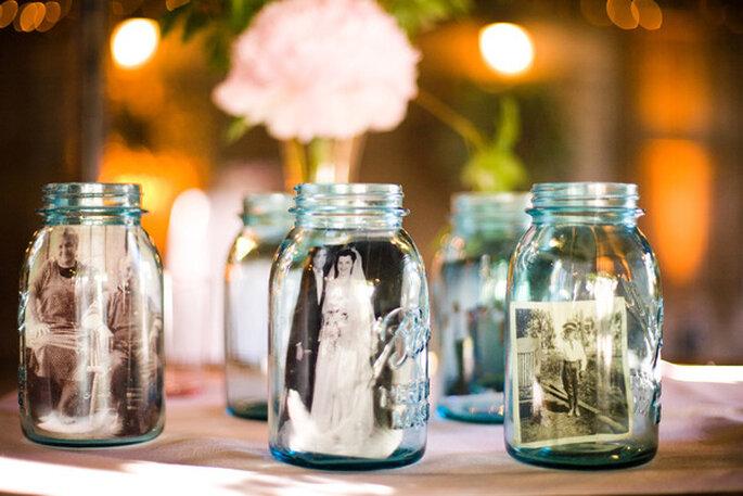 Las ideas más originales para usar los masón jars en tu boda - Jessamyn Harris