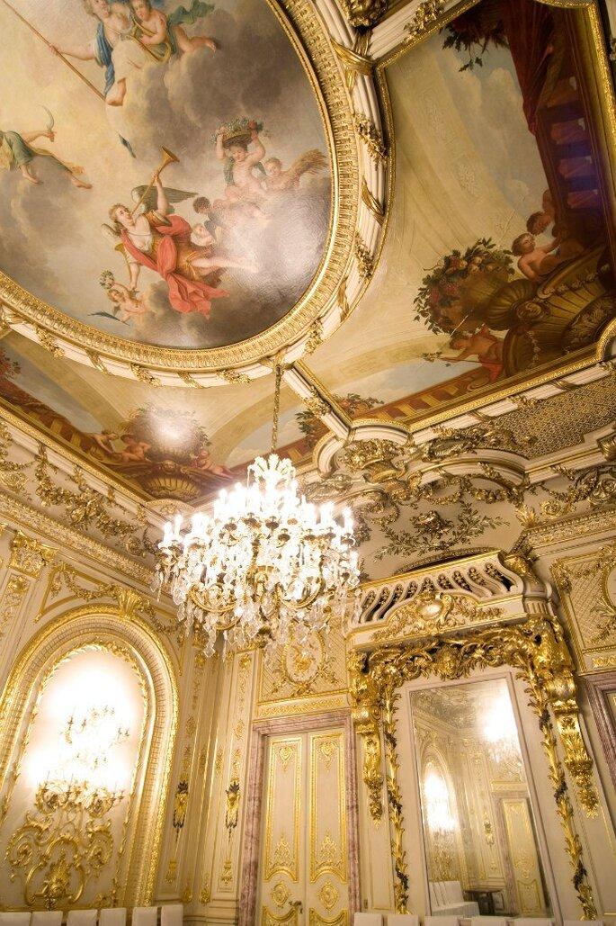 особняк половцева, белый зал