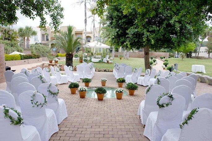 Hochzeit im Marriott Hotel in Denia
