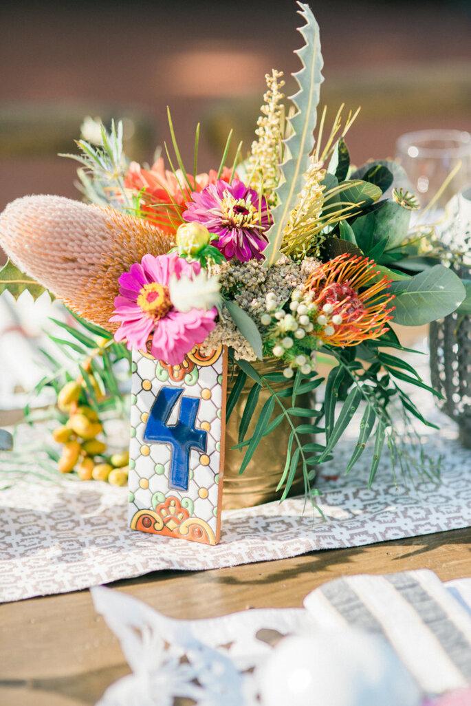 Numeración de mesas - Honey Honey Photography