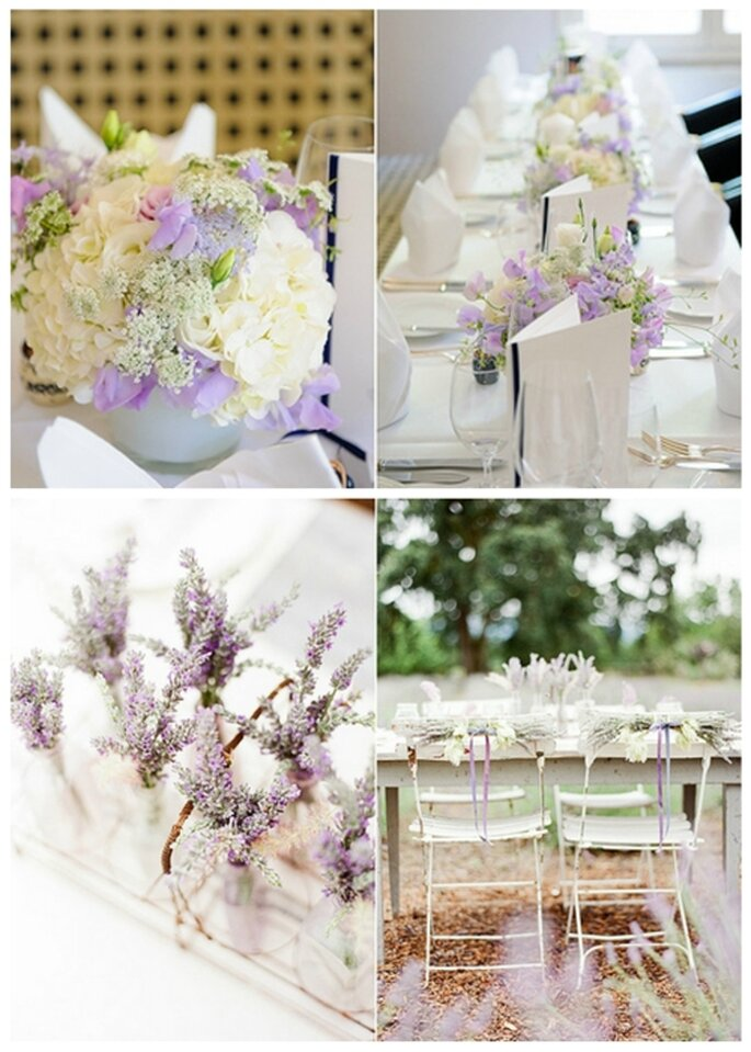 Tischdekoration für Ihre Hochzeit in Pastelltönen - Fotos: Kristin Speed/KT Merry Photography.