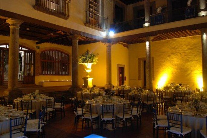Celebra una recepción de impacto y llena de elegancia - Foto Museo Casa de la Bola