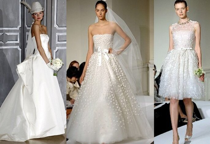 Vestiti da sposa oscar de la renta collezione 2009 for Disegnatori famosi