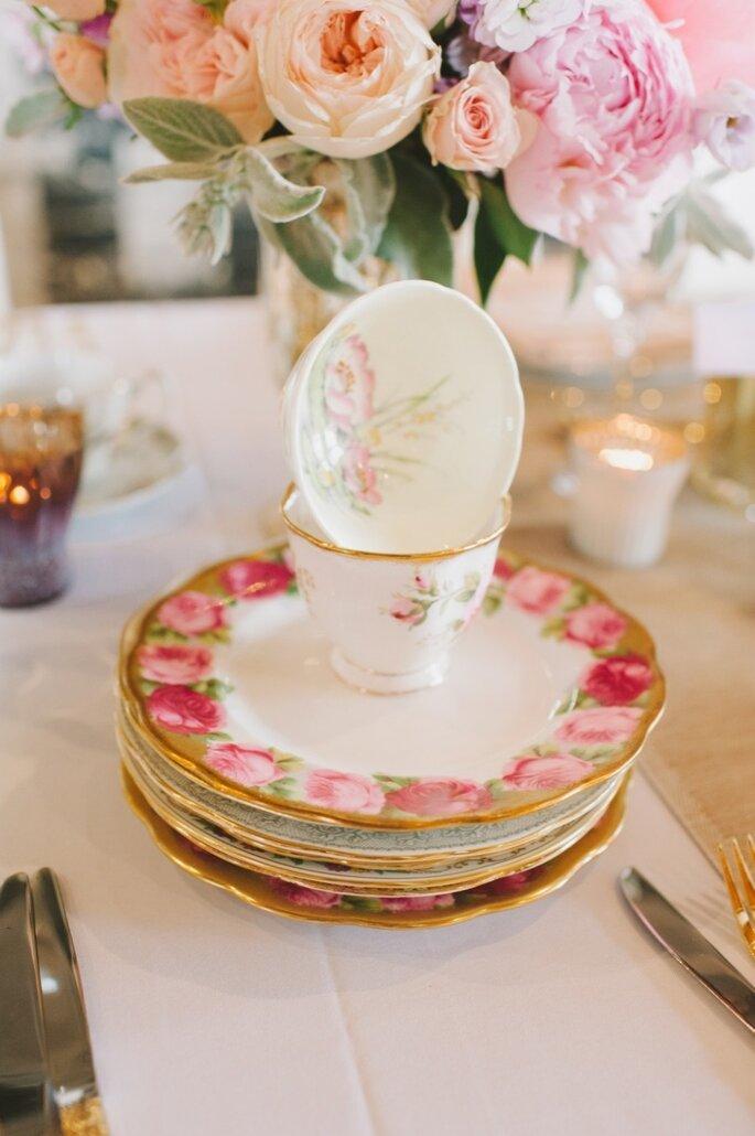 Detalles para una boda shabby chic - Mango studios