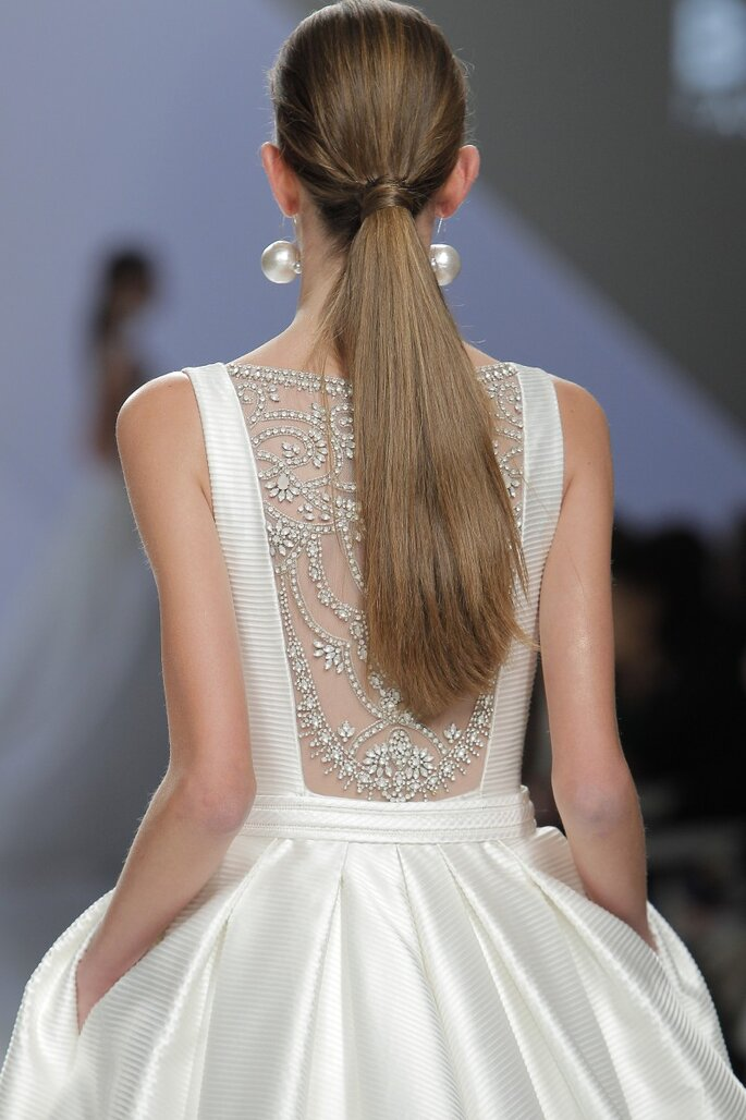 Rosa Clará. Foto: Barcelona Bridal Fashion Week