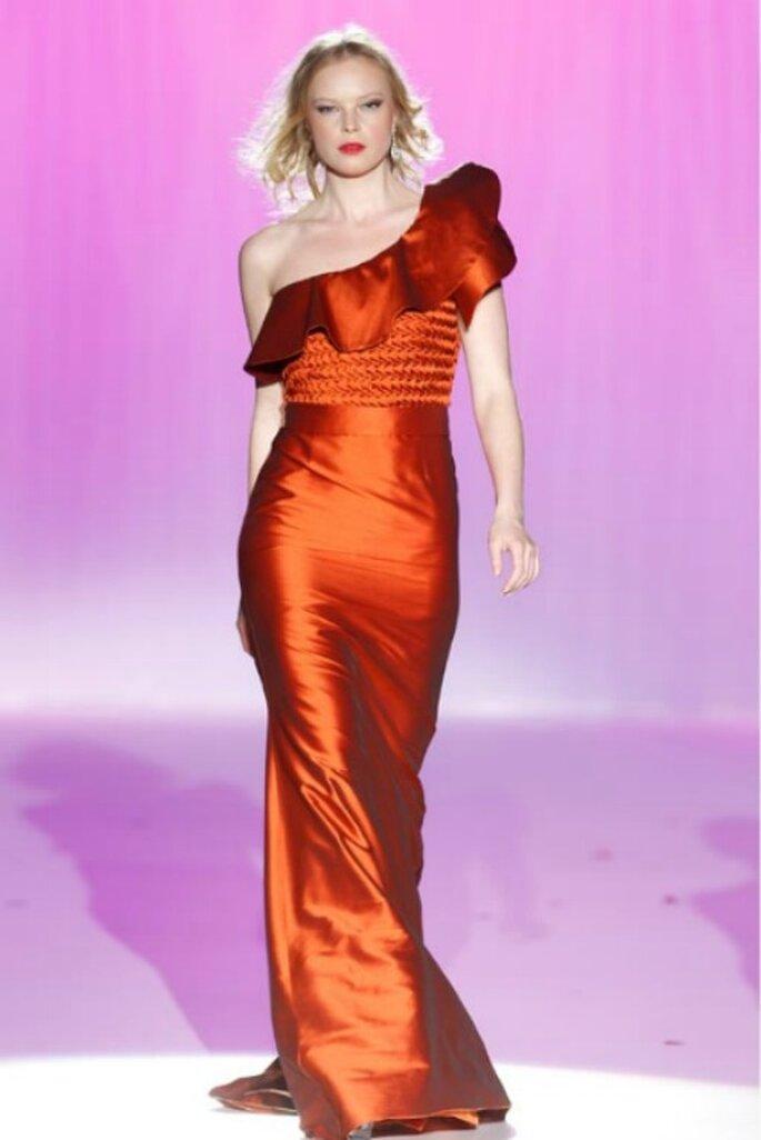 Farbige Brautmode von Ana Tores aus der Kollektion 2012